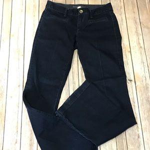 Banana Republic Dark Wash Flare Leg Jeans Size 27